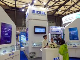 MICREL2014慕尼黑上海电子展采播