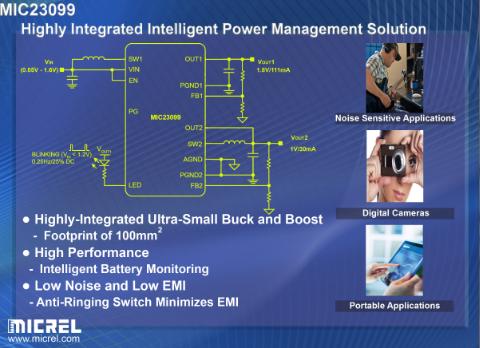 麦瑞半导体推出新型高集成度智能电源管理解决方案