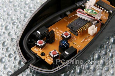 罗技lx3 plus激光鼠标拆解评测