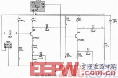 基于Multisim的阻容耦合放大电路设计