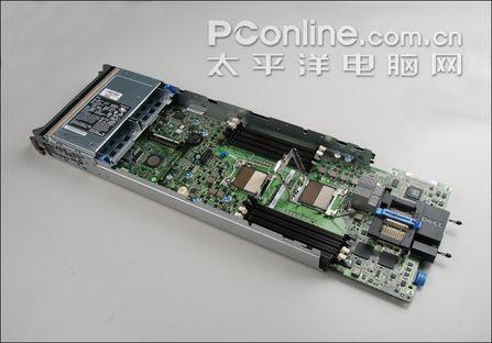 m600孪生兄弟 戴尔m605刀片服务器拆解