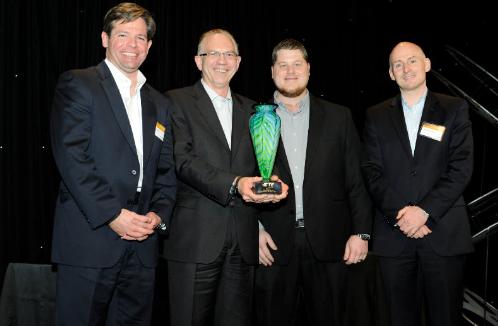 Mouser Electronics 荣获 TE Connectivity 颁发2013 年度全球目录分销商大奖