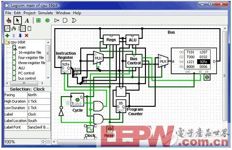 盘点电子工程师10大必备免费DIY工具(二):Logisim