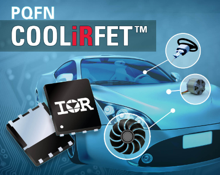 IR新品AUIRFN8403提供紧凑5x6mm PQFN封装