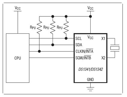低电流I²C RTC,可配合高ESR晶体使用