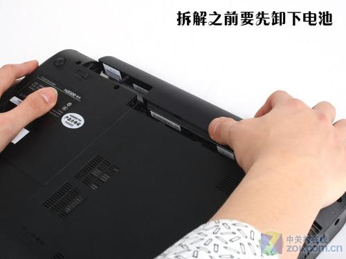 神舟優雅A560p詳細拆解