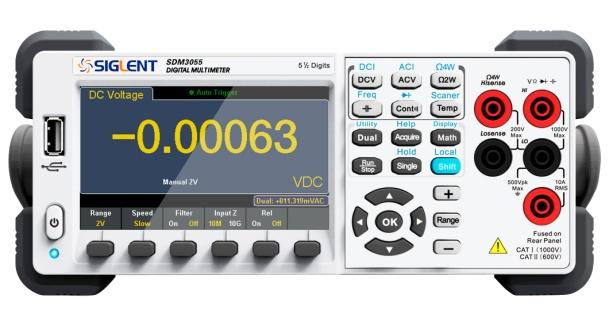 鼎阳科技发布高测速5½位数字万用表SDM3055/3055A