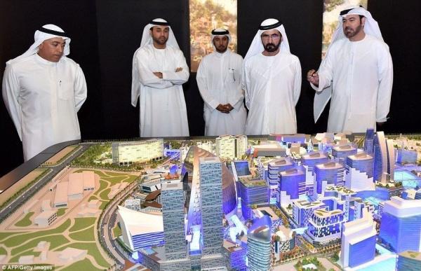 迪拜拟建世界第一座温控城市