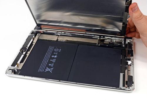 iPad Air大拆解:电池容量缩水 续航反而提升?