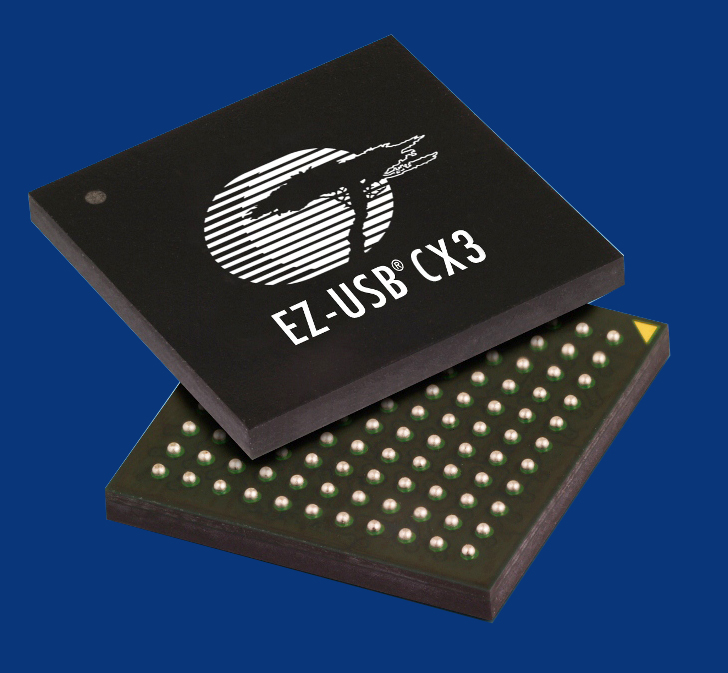 赛普拉斯的EZ-USB CX3摄像机控制器为Raytrix全新的3-D摄像机带来5-Gbps的 USB 3.0性能