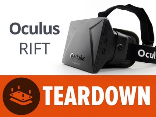 穿戴设备之Oculus Rift 完美拆解