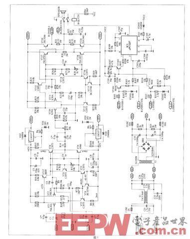 一款简易稳定的音频功放电路设计制作