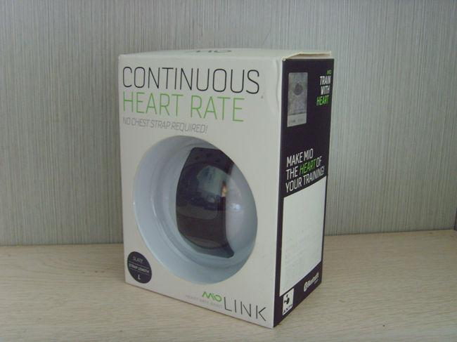 迈欧凌客(mio Link)心率监测手环上手评测