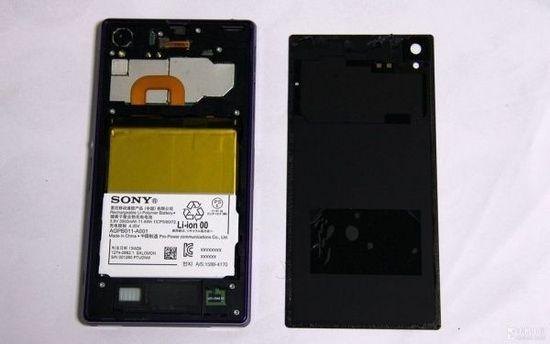 [图]索尼Xperia Z1拆解 做工扎实还原较难