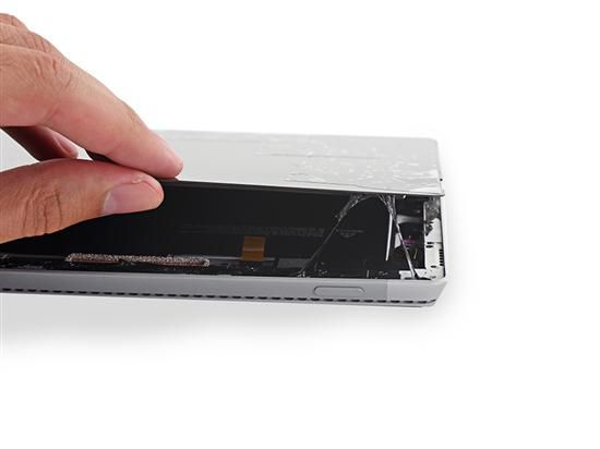 依然极难修复 Surface Pro 3拆解图赏
