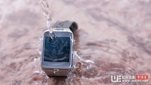 The Gear 2 has water resistance, rated at IP67
