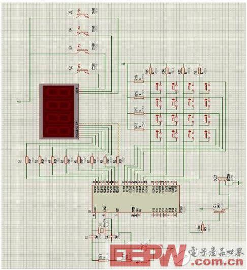 一种基于AT89C51单片机的十进制计算器系统