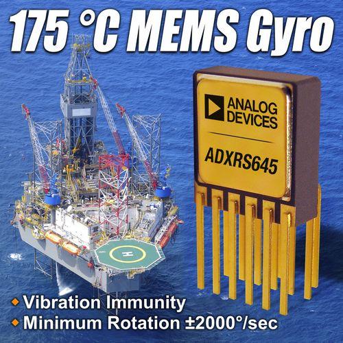 ADI推出可用于高温环境的MEMS陀螺仪ADXRS645