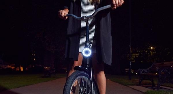 夜间骑行更安全:Double O磁性LED自行车灯介绍