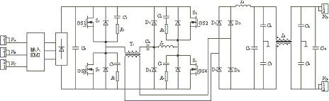 主电路原理框图