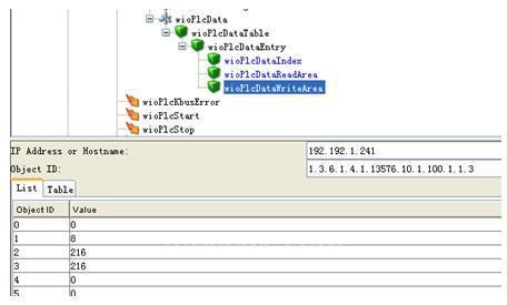 图4   HiVision 中的Snmp Brower工具界面