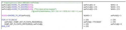 图3   WAGO-I/O-PRO CAA 程序界面