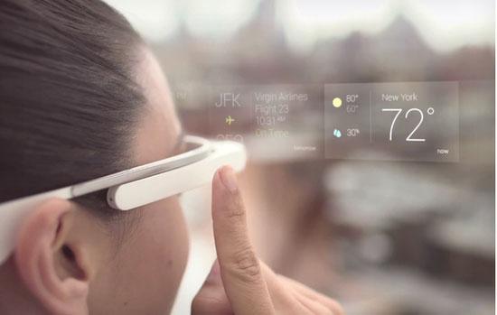 专利曝光新款谷歌眼镜内置微型投影仪