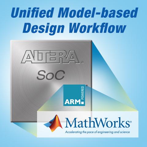 Altera与MathWorks为Altera SoC提供基于模型设计的统一工作流程