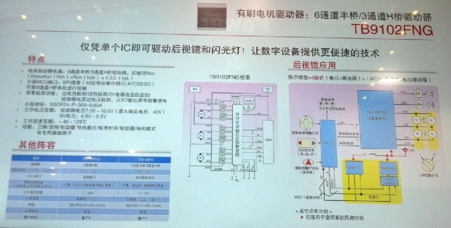 看东芝:系统芯片很抢眼
