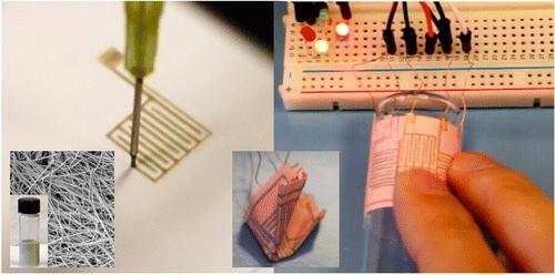 生产电路的新时代:工程师把电路打印到纸上
