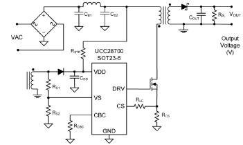UCC2870初级控制反激式电源控制器启动性能分析