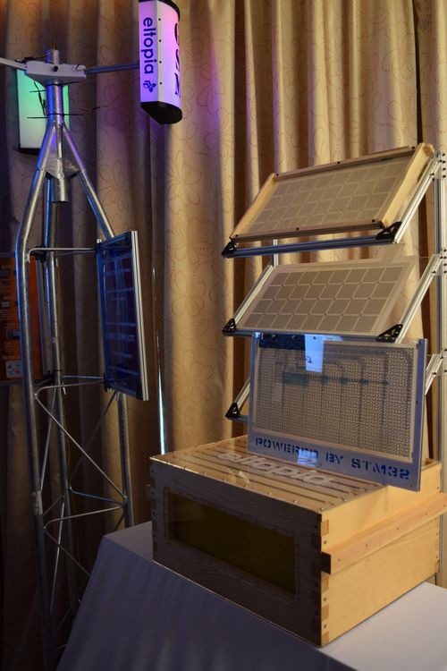 Eltopia借助意法半导体(ST)的电子产品技术拯救蜜蜂
