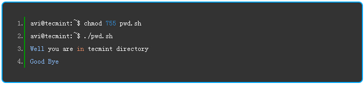 pwd的基本语法
