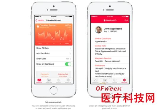 苹果HealthKit秒杀Google Fit领跑智能医学界?