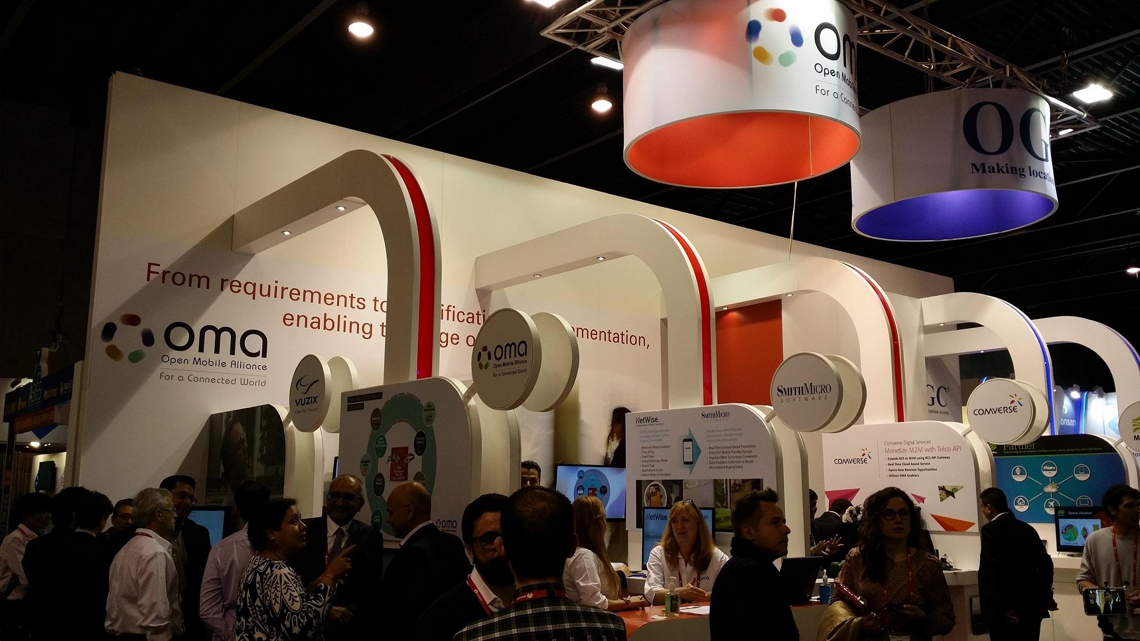 OMA成员公司在世界移动通信大会演示独一无二的引擎技术