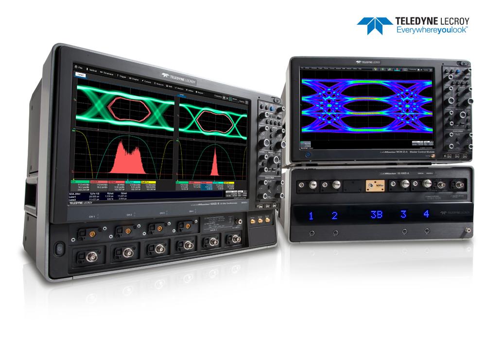 力科(Teledyne LeCroy)针对下一代高速电气和光链路测试发布新的LabMaster和WaveMaster示波器