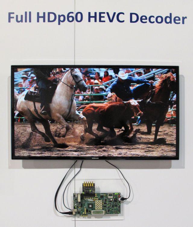 CoreEL——视频编解码器领域的大师,在NAB2015展会上展示多种视频编解码器IP