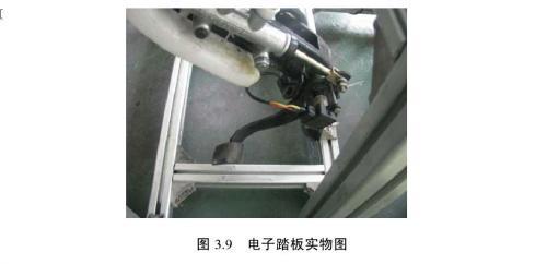 汽车电子液压制动系统跟随特性的实验研究 汽车 EHB 系统的硬件设计 高清图片