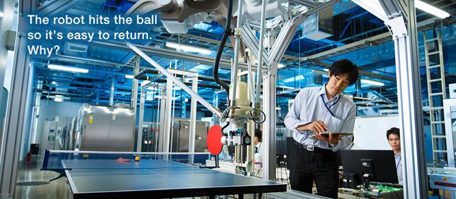 欧姆龙:开发乒乓球机器人 实现人机最佳默契