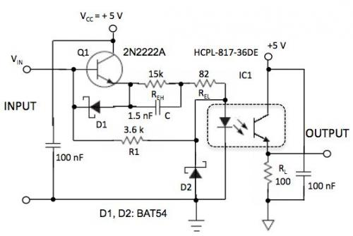 光耦合器的加速也可降低功耗