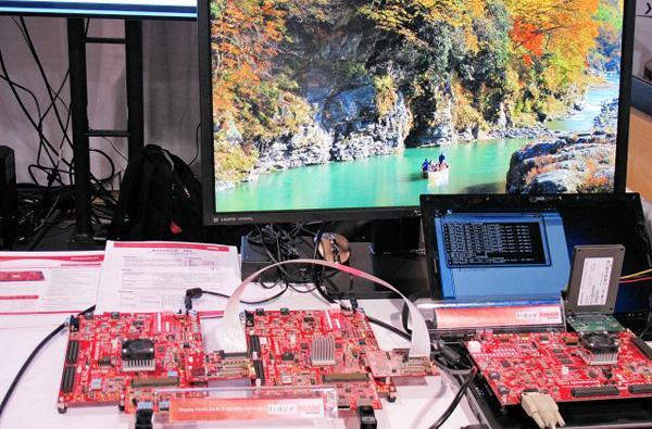 如何使用inrevium IP和开发板将V-by-One HS视频接口应用在平板开发中
