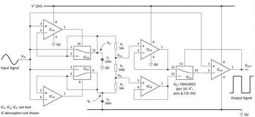 施密特触发器的阈值如何自动调整?