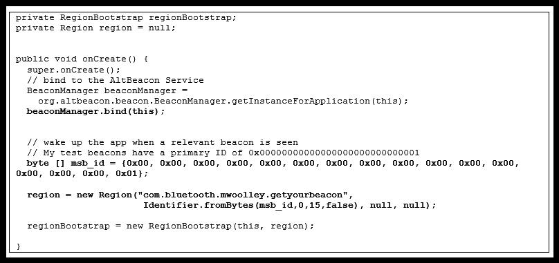 手把手教你如何开发AltBeacon安卓APP
