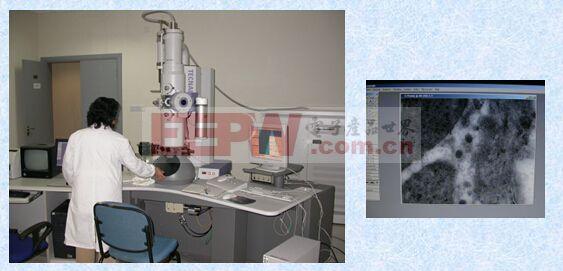电子显微镜原理  主要优点:景深长,所获得的图像立体感强,可用来观察