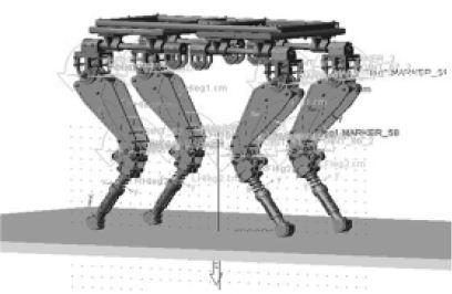 四足机器人中多传感器信息融合的应用