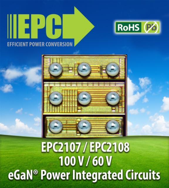 专为符合A4WP Rezence标准的无线电源传送应用而设的EPC eGaN功率集成电路在效率及成本方面树立全新基准