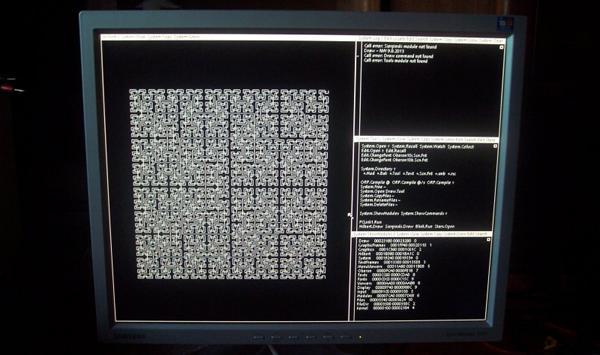 基于低成本FPGA开发板的Oberon系统