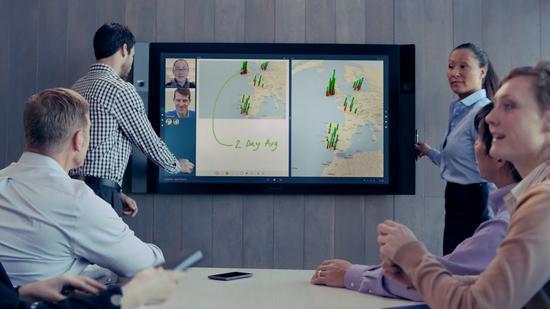 微软巨屏平板Surface Hub推迟上市 售价2万美元