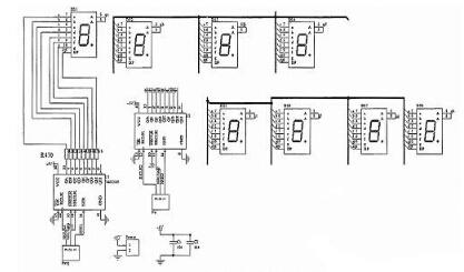 4电磁阀及抽水泵控制电路   当单片机电磁阀(或抽水泵)控制引脚输出低图片