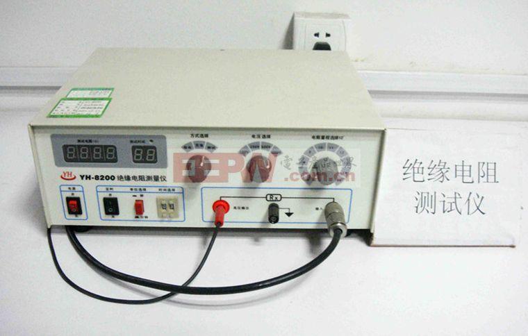 绝缘电阻测试仪原理